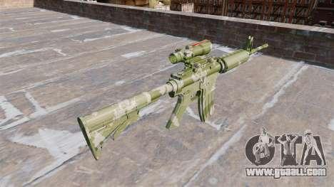 Automatic carbine MA Guard Camo for GTA 4 second screenshot