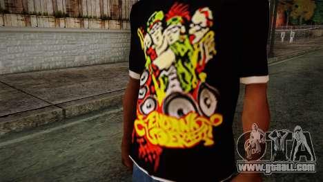 Endank Soekamti T-Shirt for GTA San Andreas third screenshot