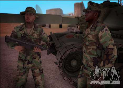 90s California National Guard for GTA San Andreas third screenshot