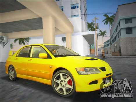 Mitsubishi Lancer Evolution 8 2004 for GTA Vice City