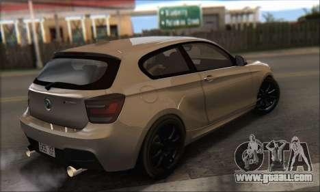 BMW M135i for GTA San Andreas left view