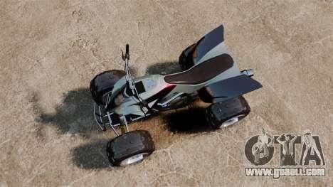 GTA V Nagasaki Blazer v2 for GTA 4 right view