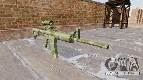 Automatic carbine MA Guard Camo for GTA 4