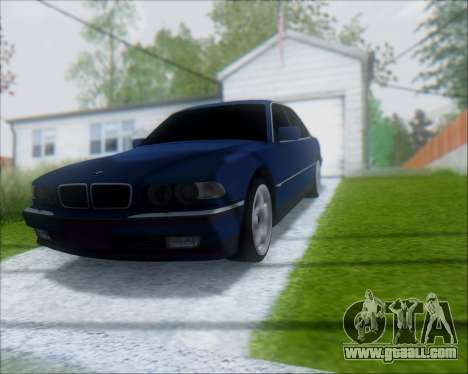 BMW 7 E38 for GTA San Andreas right view