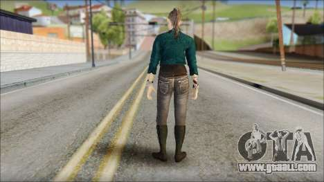 Clara Lille From Watch Dogs for GTA San Andreas second screenshot