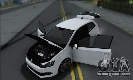 Volkswagen Polo for GTA San Andreas upper view
