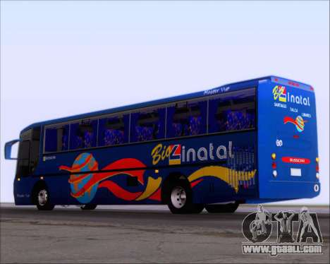 Busscar El Buss 340 Bio Linatal for GTA San Andreas right view