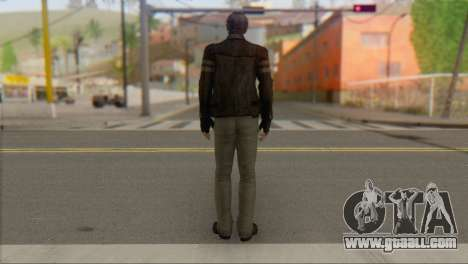 Leon .S.Kennedy v1 for GTA San Andreas second screenshot