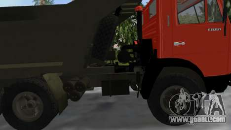 KamAZ 5511 for GTA Vice City right view