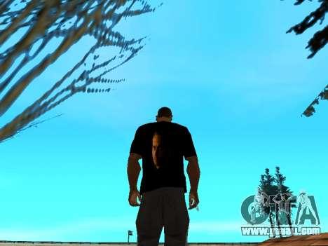 T-Shirt Paul Walker for GTA San Andreas third screenshot