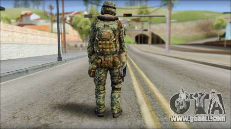 Forest UDT-SEAL ROK MC from Soldier Front 2 for GTA San Andreas second screenshot