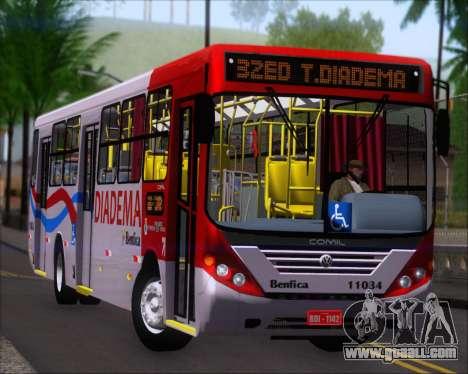 Comil Svelto 2008 Volksbus 17-2 Benfica Diadema for GTA San Andreas left view