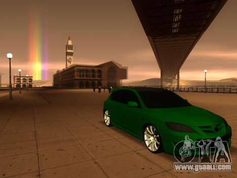 Mazda 3 for GTA San Andreas