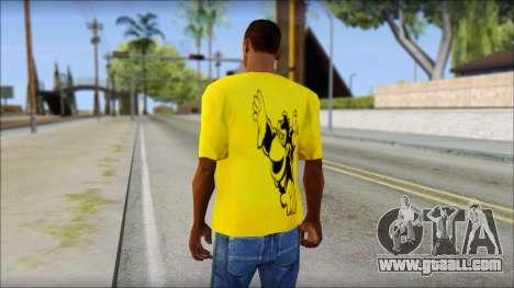 Bud Spencer And DAnusKO T-Shirt for GTA San Andreas second screenshot