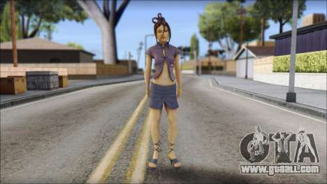 Girl on heels for GTA San Andreas