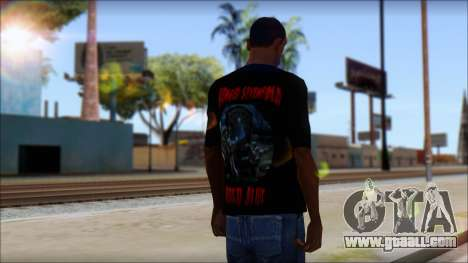 A7X Buried Alive Fan T-Shirt v1 for GTA San Andreas second screenshot