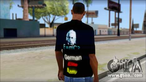 German Elite Army Emcore Fan T-Shirt for GTA San Andreas second screenshot
