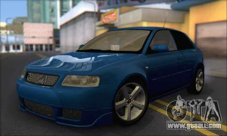 Audi A3 1999 for GTA San Andreas