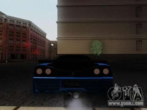 Honda NSX VeilSide for GTA San Andreas left view