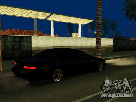 Chevrolet Impala SS 1995 for GTA San Andreas back view