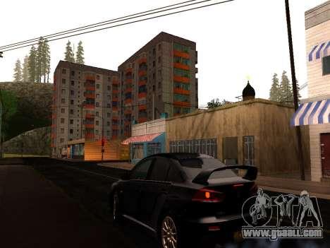 ENB by Makar_SmW86 v5.5 for GTA San Andreas second screenshot