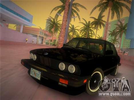 BMW 535i US-spec e28 1985 for GTA Vice City
