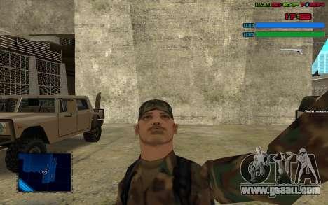 C-HUD by SampHack v.7 for GTA San Andreas