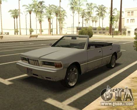 Sentinel Convertible for GTA San Andreas
