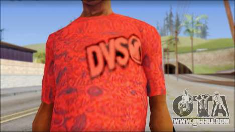 DVS T-Shirt for GTA San Andreas third screenshot