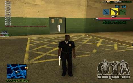 C-HUD by SampHack v.3 for GTA San Andreas second screenshot