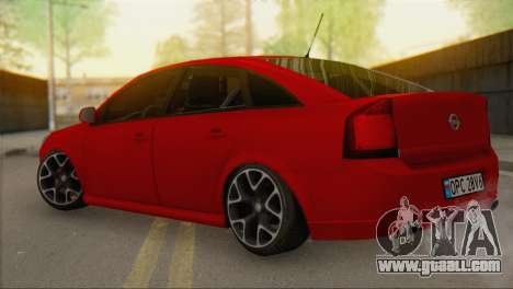 Opel Vectra C for GTA San Andreas left view