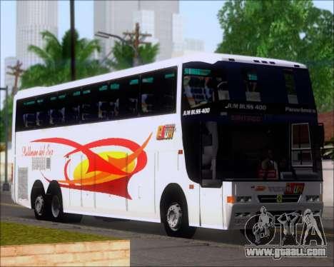 Busscar Jum Buss 400 Volvo B10R Pullman Del Sur for GTA San Andreas wheels