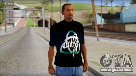 Dub Fx Fan T-Shirt v2 for GTA San Andreas