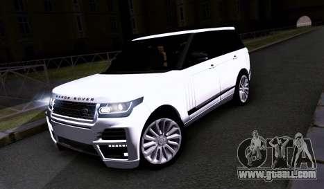 Land Rover Range Rover Startech for GTA San Andreas left view