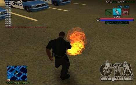 C-HUD by SampHack v.3 for GTA San Andreas