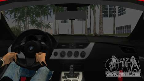 BMW Z4 sDrive35is for GTA Vice City back left view