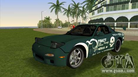 Mazda RX-7 Tuning for GTA Vice City