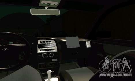VAZ 21123 Turbo for GTA San Andreas upper view