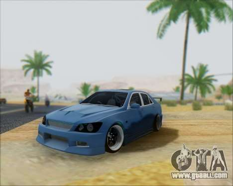 Toyota Allteza C-West for GTA San Andreas
