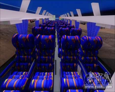 Busscar El Buss 340 Bio Linatal for GTA San Andreas bottom view