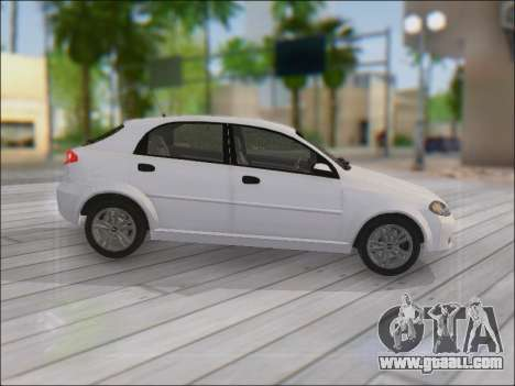 Chevrolet Lacetti for GTA San Andreas inner view