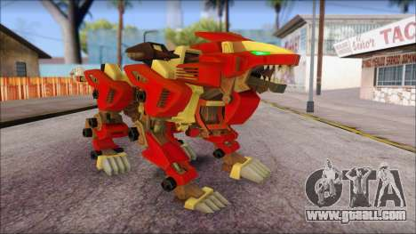 Liger Zero Zoids for GTA San Andreas