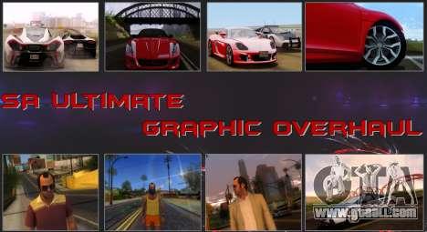 SA Ultimate Graphic Overhaul 1.0 Fix for GTA San Andreas