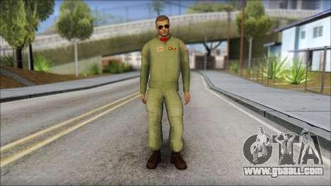 USAF Pilot On Base for GTA San Andreas