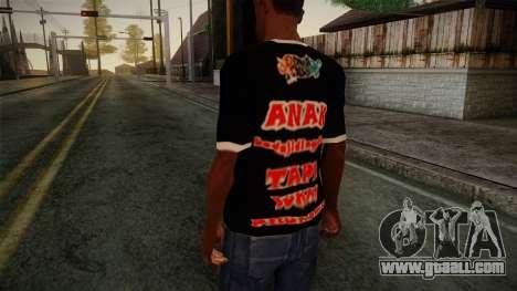 Endank Soekamti T-Shirt for GTA San Andreas second screenshot