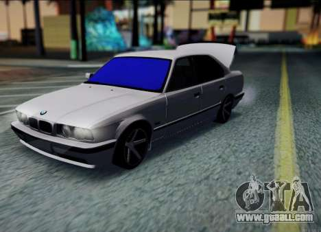 BMW 520i E34 for GTA San Andreas