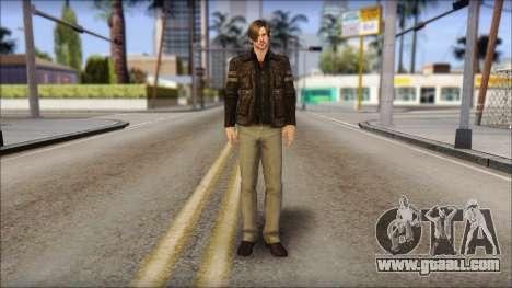 Leon Kennedy from Resident Evil 6 v2 for GTA San Andreas