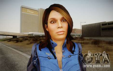 Ashley from Mass Effect 3 for GTA San Andreas third screenshot