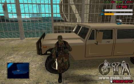 C-HUD by SampHack v.7 for GTA San Andreas second screenshot