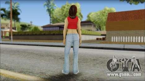 Young Street Girl for GTA San Andreas second screenshot